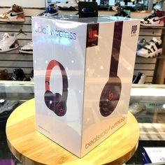 2bbaba28efe eBay #Sponsored Beats Studio Beatsstudio 3 Wireless Red Headphones  MQD02LL/A by dr. dre | Portable Audio and Headphones in 2019 | Pinterest