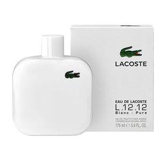 Lacoste Blanc Pure. Uma irresistível fragrância de tons elegantes e leves. Disponível em nossa loja online essenceperfumaria.com #essence #essenceperfumaria #fragrance #fragrancia #lacoste