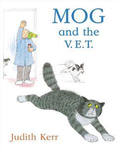 Mog and the V.E.T. (Mog the Cat Books) by Judith Kerr http://www.amazon.com/dp/0007171285/ref=cm_sw_r_pi_dp_xgfbvb1FGG6H6