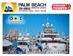 Palm Beach Boat Show http://www.showmanagement.com/event/