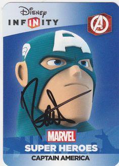 Roger Craig Smith as Captain America in Disney Infinity