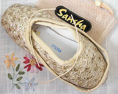SANSHA ARABIAN FANTASY beautiful sparkly ballet dance pointe shoes - NEW | eBay