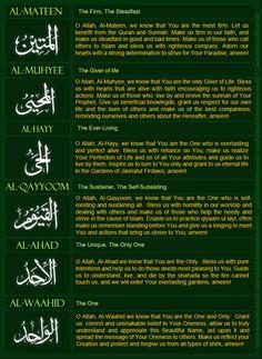 Understand Quran Academy: Names of Allah! Dua's 9