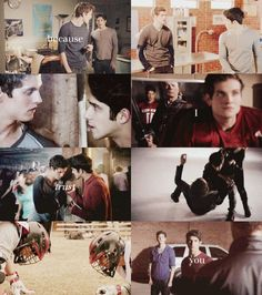 scott and isaac. love this ship sosososo much!
