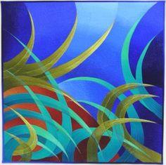Art quilt - In the Marsh Caryl Bryer Fallert