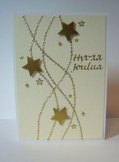 Simple Christmas Cards, Homemade Christmas Cards, Easy Christmas Crafts, Christmas Cards To Make, Christmas Wrapping, Homemade Cards, Holiday Cards, Karten Diy, Candy Cards