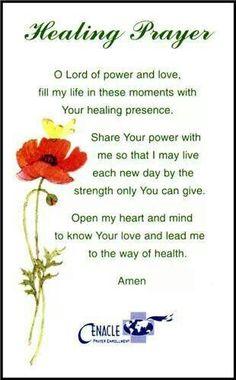 Prayer For Healing Quotes Best Healing Prayer  Prayers  Pinterest  Healing Prayer Scriptures