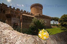 Castello di Ostia Antica foto del Lillà Bianco