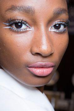 New York Fashion Week Primavera 2015 Tendências de maquiagem dos olhos | Beleza alta