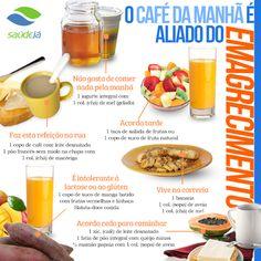 O café da manhã é importante para ter energia para começar bem!  #bomdia #saudeja #nutrição #saudavel #fitness