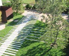 "installation called ""Garden Play"" was designed by environmental artist, Topher Delaney of SEAM Studio"