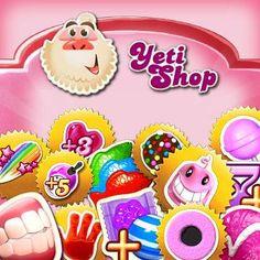 Yeti Shop Candy Crush Saga, Cookies, Desserts, Shop, Jewelry, Crack Crackers, Tailgate Desserts, Deserts, Jewlery