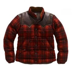 RRL Kepler Plaid Jacket