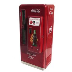 "My dad had one of these at his full service, service station. Coca Cola ""Cavalier"" Restored Vending Machine from 1958"