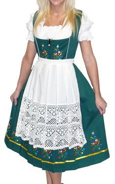 Hey, I found this really awesome Etsy listing at https://www.etsy.com/listing/199587701/3-piece-long-green-german-dirndl-dress-2