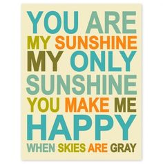 Items Similar To Childrens Wall Art Nursery Decor Childrens Wall Art Nursery Decor You Are My Sunshine Inch Print By Finny And Zook On Etsy