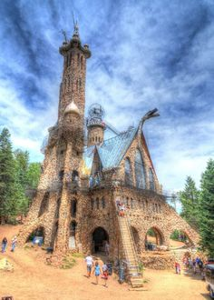 The Ancient Forest In Colorado That's Right Out Of A Storybook - The Ancient Forest In Colorado That's Right Out Of A Storybook Every storybook needs a castle, which in this case is the jaw-dropping Bishop Castle. Road Trip To Colorado, Visit Colorado, Colorado Hiking, Colorado Mountains, Colorado Springs, Aspen Colorado, Denver Colorado, Denver Travel, Travel Oklahoma