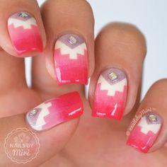 nail art by xNailsByMiri
