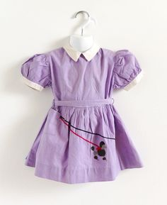 1950s mommy made girls dress just sold on my IG page!  Follow me at @attyssproutvintage for more vintage goodies like this only available on IG. 💝