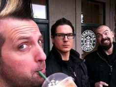 Billy Tolley, Zak Bagans and Aaron Goodwin