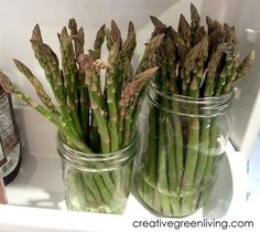 How to Keep Asparagus Fresh For a Week or More ~ Creative Green Living