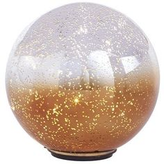 Twinkling Ombre Sphere - Large