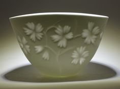 Bone China - new carving design - Rika Herbst