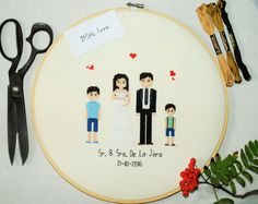 Th anniversary cross stitch gift ideas for him for her for
