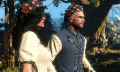 """When I want something I don't dream of it."" ~ Geralt and Yennefer's wedding, Something ends, something begins"