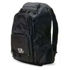 The Daddy Diaper Pack is a basic black backpack for storing all the essentials dads need for a day of adventure with baby.