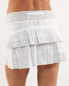 Love this race skirt... So comfy and the underskirt stays in place while you run...
