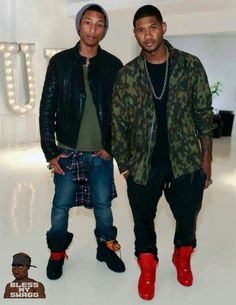 Usher and Pharell hot music