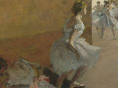 """""""Dançarinas Subindo uma Escada"""", de Edgar Degas (1834-1917)"""
