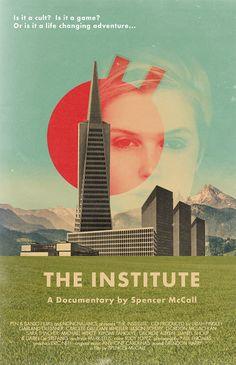 US poster for THE INSTITUTE (Spencer McCall, USA, 2013) Designer: Mark Weaver