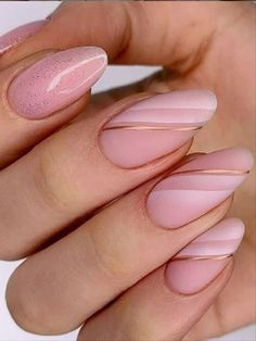 Beautiful Ladies' Favorite Nude Beauty Nails! Don't Tell Me You Haven't Tried! - Latest Fashion Trends for Girls