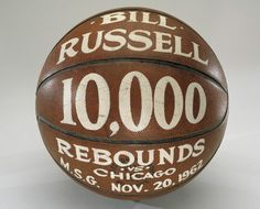 "Basketball, awarded to Bill Russell, Rebounds"" 1956 Olympics, Bill Russell, Boston Celtics, Rebounding, Nba, Basketball, African, Athletics, Seattle"