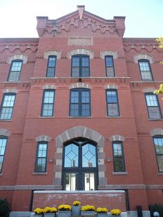 City Hall Annex - Inman Street facade