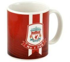 No.1 fan Liverpool Fc mug- $12.49  #LFC #lfcmerchandise #mug