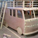Step by step instructions for how to build a VW Bus Bunk Bed.