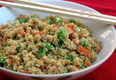 #Quinoa Vegetable #StirFry is a delicious and flavorful dish with an #Asian flair.