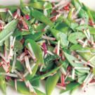 Try the Snow Pea and Radish Salad Recipe on williams-sonoma.com/