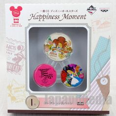 Disney All Stars Collection Alice in Wonderland Pins Badge set Ichiban Kuji Banpresto JAPAN