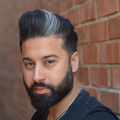 30 Pompadour Haircut Ideas For Modern Men + Styling Guide #pompadourhaircut #pompadourhairstyle #pompadourfade #undercutpompadour #shortpompadour #undercut #quiffhaircut