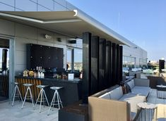 C Rooftops to Visit this Summer — HighLowLuxxe Pool Lounge, Outdoor Lounge, Outdoor Seating, Montreal Travel, Paris Travel Guide, Rooftop Pool, Grand Hotel, Greece Travel