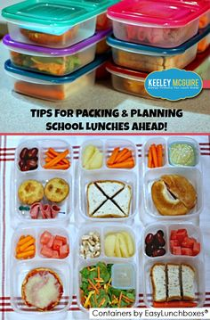 It's Not Just Lunch - Mobile Site » Make lunch for the week – pack ahead and save time