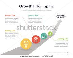 Flat business presentation vector slide template with arrow way diagram Web Design Examples, Ppt Design, Chart Design, Layout Design, Business Presentation, Presentation Design, Organizational Chart, Slide Template, Arrow Design