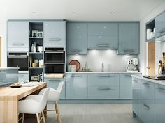 View our stunning range of Classic, Traditional and contempory Kitchen. Speak to one of our Design Consultants today. Open Plan Kitchen Living Room, Kitchen Room Design, Home Decor Kitchen, Interior Design Kitchen, New Kitchen, Stylish Kitchen, Dining Room, Contempory Kitchen, Modern Kitchen Cabinets
