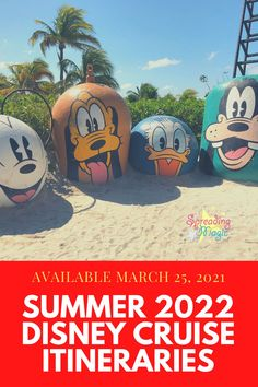 Disney Cruise Line has just revealed an exciting line-up of itineraries and destinations for summer 2022 Disney Cruise Line vacations! Highlights include new ports in Greece, Portugal, Latvia, Norway, Sweden and Dominica, plus first-ever summer sailings from Miami to the Bahamas #cruise #cruises #disneycruise #disneycruiseline #disneycruises #summer Eastern Caribbean Cruises, Western Caribbean, Royal Caribbean Cruise, Cruise Europe, Cruise Travel, Disney Wishes, Disney Destinations, Bahamas Cruise, Norwegian Cruise Line