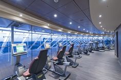 #MSCPreziosa - Fitness Center, gym, work out