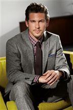 Grey Donegal Slim Fit Suit
